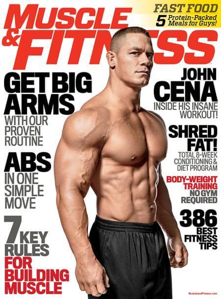 John Cena Cover Story - Matt Tuthill